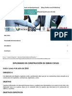 DIP - Diplomado en Construcción de Obras Civiles