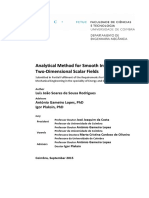 Analytical Method for Smooth Interpolation of Two-Dimensional Scalar Fields