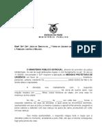 12 - Requerimento Do MP - Medida Protetiva - Lei Maria Da Penha