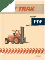 Manual de Partes Hytrak 642B, 644, 842B, 844