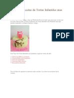 Top 5 de Recetas de Tortas Infantiles Mas Populares