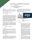Estructuras Verticales Para MOSFETs de Potencia
