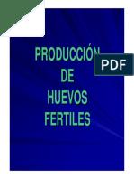 Prod de Huevos Fértiles 2012