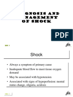 Diagnosis & Managemen Shock