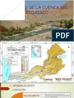 Analisis de La Cuenca Del Río Pisco