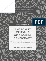 Anarchist Critique of Radical Democracy - Markus Lundstrom