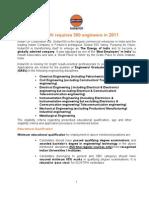 Open Recruitment 2011 Detail Ad