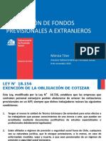 Devolucion de Fondos Prev a Extranjeros