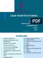 Formation Lean Manufacturing
