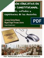 Innovación Educativa en Derecho Constitucion