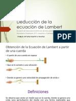 Deducción de la ecuación de Lambert v1.pptx