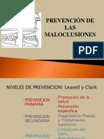 tratamientodelasmaloclusionesynivelesdeprevencion-160524182254