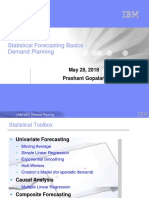 DP Statistical Forecasting