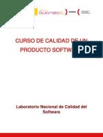 Calidad de Un Producto Software