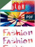 Uso Del Color en La Moda