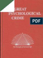 The Great CrimeOCR