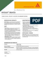 Antisol Blanco (Curador Para Concreto y Mortero)