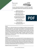 Uso de Microalgas Para a Produção de Biodiesel Vantagens e Limitações