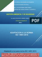 3.2. GAS. Adaptacion a ISO 14001. 2015.