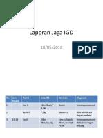 Laporan Jaga IGD Novia