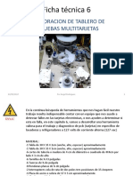 05 Elaboracion de Tablero de Pruebas Multitarjetas