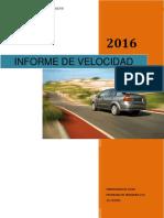 Informe de Velocidad FINAL