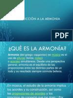 Intro a La Armonia