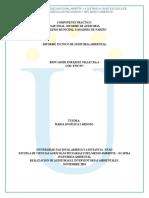Informe Técnico de Auditoría Ambiental