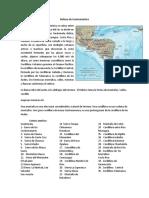 Relieve de Centroamérica
