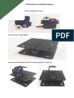 6 DOF Robot Arm Installation Diagram