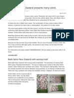 Batikdlidir.com-Batik Fabric New Zealand Presents Many Colors