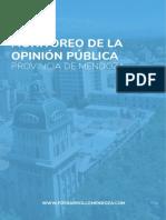 Encuesta sondeo Mendoza mayo 2018