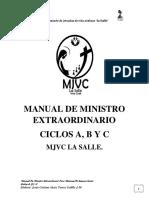 Manual de Ministro Mjvc