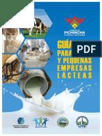Guía de Buenas Prácticas de Manufactura Micro y Pequeñas Empresas Lácteas (1)