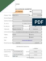 Ficha Actualización Datos