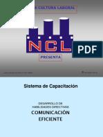 Capacitación en Comunicación