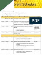 stem event schedule