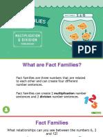 fact family x
