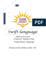 Swift Language 3
