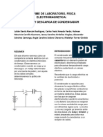 Laboratorio de Fisica Condensadores