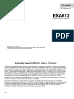 Manual de Usuario ESA612