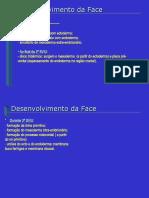 [Embriologia] - Desenvolvimento da Face