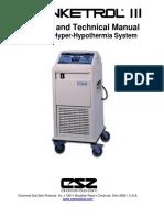 Intercambiador de temperatura Cincinnati SubZer0, Blanketrol III