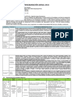 Ejemplo de Planificacion Curricular 2014