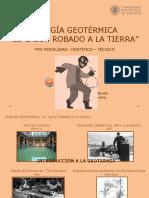 presentacion GEOTERMIA