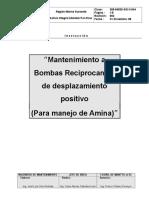 269-64520-Sgi-3-044mantto a Bba. Reciprocante de Desplazamiento Positivo Amina
