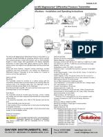 Transmisor de Presion Ingles Dwyer-Magnesense MS-221-LCD