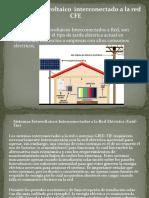 Sistema Fotovoltaico de Interconexion a La Red Cfe