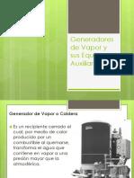 Generadores de Vapor y Sus Equipos Auxiliares
