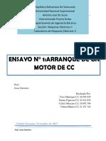 Laboratorio de maquinas electricas arranque de un motor de cc